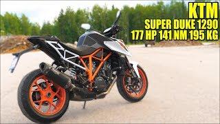 6. KTM SUPERDUKE 1290 R 2018 - Test Ride Akrapovic Raw Sound