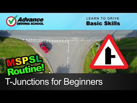 T-Junctions for Beginners  |  Learn to drive: Basic skills