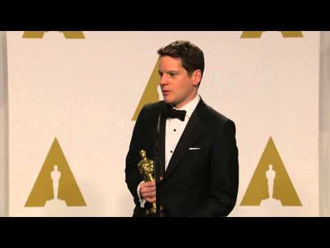 Oscars: Graham Moore Backstage Interview 2015