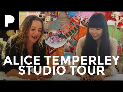 Alice Temperley Studio Tour w/ Susie Bubble видео