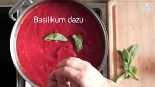 Italienische Tomatensoße (Sugo di pomodoro)