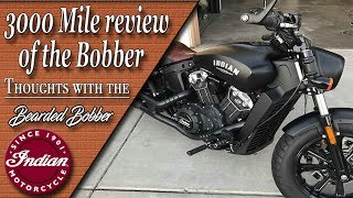 1. 3000 mile review of the 2018 Indian Scout Bobber