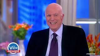 Sen. John McCain On Vietnam Draft Dodgers, Trump's Threat, Health Care | The View