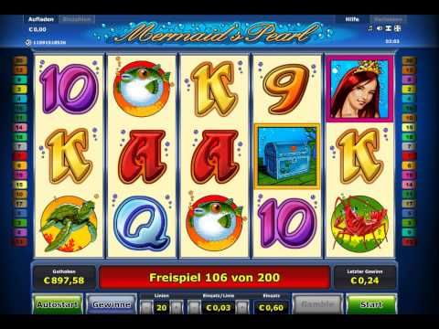 Mermaids Pearl Slot - 240 Freispiele - Big Win