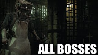 Video The Evil Within - All Bosses (With Cutscenes) HD 1080p60 PC MP3, 3GP, MP4, WEBM, AVI, FLV Juni 2019