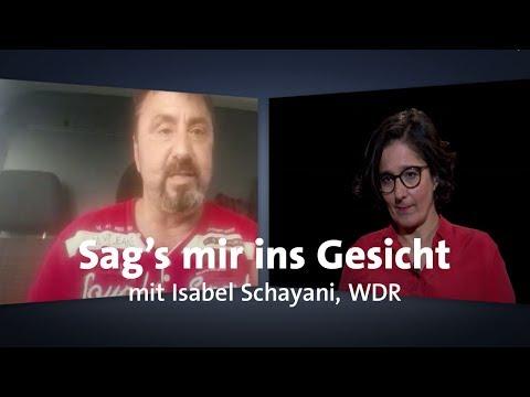 """LIVE: """"Sag's mir ins Gesicht"""" mit Isabel Schayani"""
