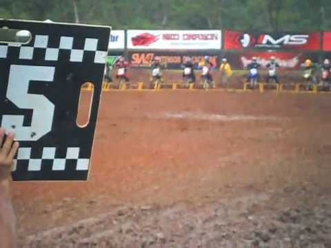 Largada TTR 230 1° Etapa Copa Interestadual de motocross em Itajubá- MG