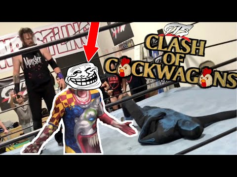 CLOWN UNMASKED! 7ft GIANT VS 7ft ZOMBIE! GTS PPV MAIN EVENT CHAMPIONSHIP MATCH!