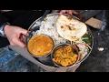 Kolkata Street Food  Amazing Indian Vegetarian Meal On Decker 39 S Lane