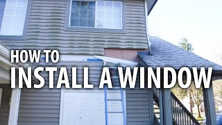 Time Lapse - How to install a window