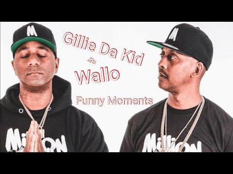 Gillie Da Kid and Wallo funny moments