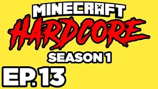 Minecraft: HARDCORE s1 Ep.13 - • TAMING A FOX, DONKEY, & HORSE! TURTLE EGGS! (Gameplay Let's Play)