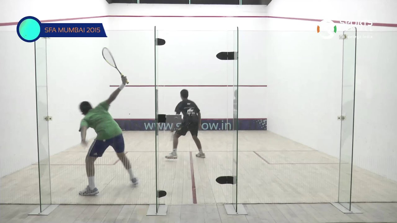 SFA Mumbai 2015 | Squash | Aakash Gupta Vs Aaryaman Jaising | U13 | Boys | Final