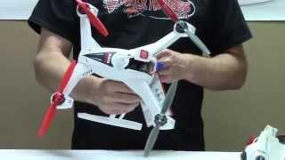 2. Blade 350 QX3 AP Combo Box Opening and Flight Video - Vortex Hobbies