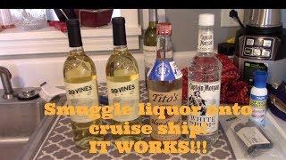 Video SMUGGLE HARD LIQUOR ONTO CRUISE SHIP!!!  IT WORKED$$$$$ MP3, 3GP, MP4, WEBM, AVI, FLV Agustus 2019