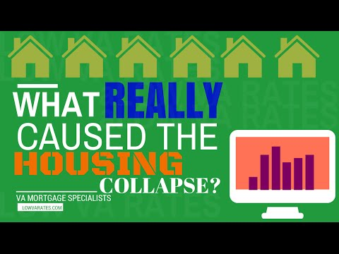 What really caused the housing collapse?