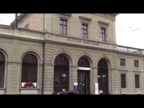 Bahnhof Schaffhausen / railway station Schaffhausen, Switzerland