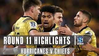 Hurricanes v Chiefs Rd.10 2019 Super rugby video highlights | Super Rugby Video Highlights