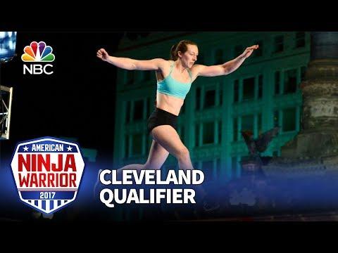 Allyssa Beird at the Cleveland Qualifiers - American Ninja Warrior 2017