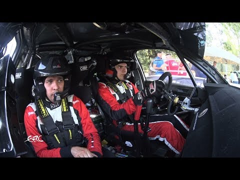 Rally di Roma Capitale 2018 - Gryazin OBC on Qualifying Stage