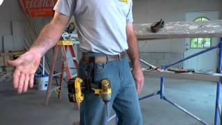 Video The most effective cordless drill gun holster in the world. Bar none. MP3, 3GP, MP4, WEBM, AVI, FLV November 2017