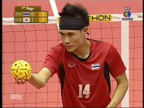 THA - KOR Sepaktakraw King's Cup Men's Team (1st)