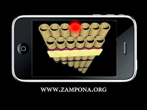 Video of Zampoña