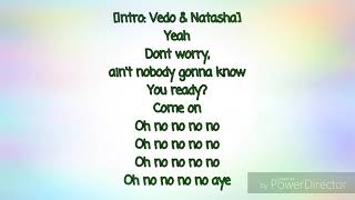 Vedo Ft. Natasha Mosley - 4 Walls (Lyrics)