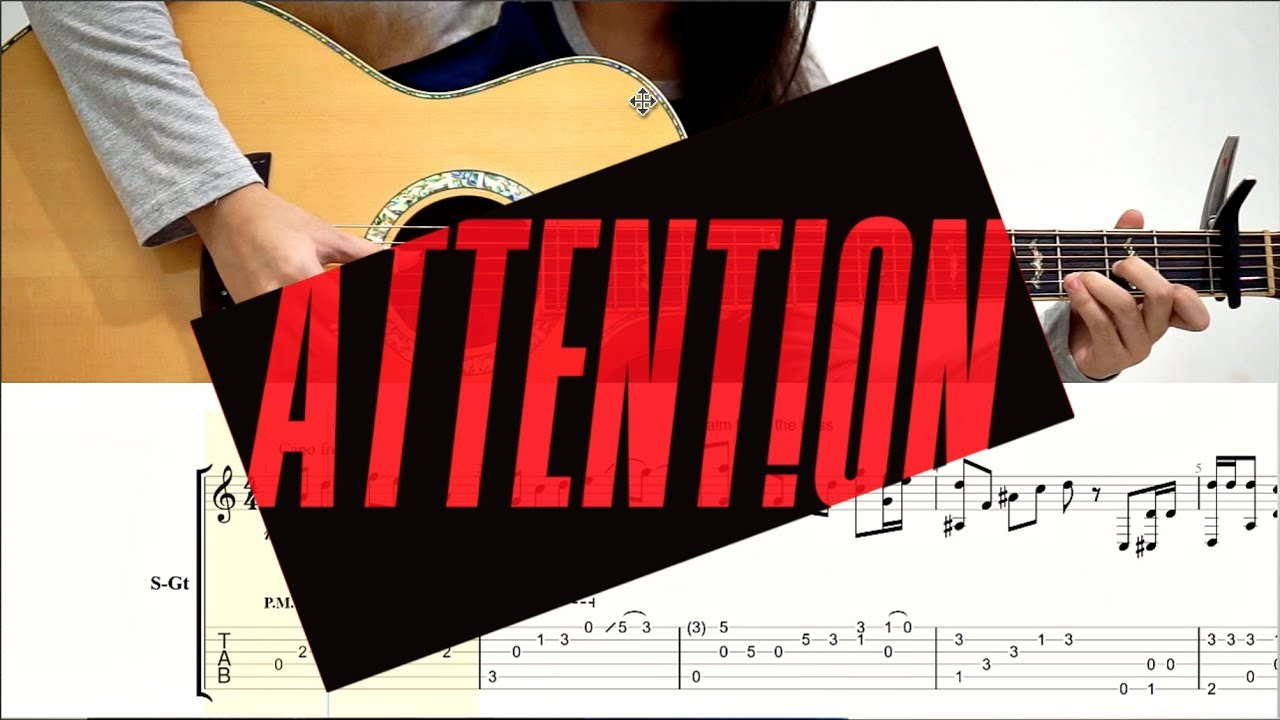 (Charlie Puth) Attention – Josephine Alexandra | Fingerstyle Guitar Cover