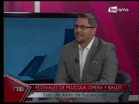 Festivales de Película, ópera y ballet sala de artes de Supercines