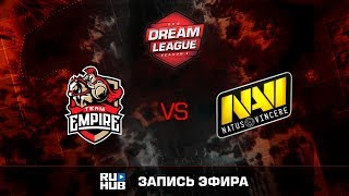 Empire vs Na`Vi, DreamLeague Season 8, game 1 [v1lat, GodHunt]