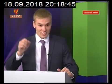 Дебаты Коновалов Зимин 18 сентября в Черногорской студии РТС - DomaVideo.Ru