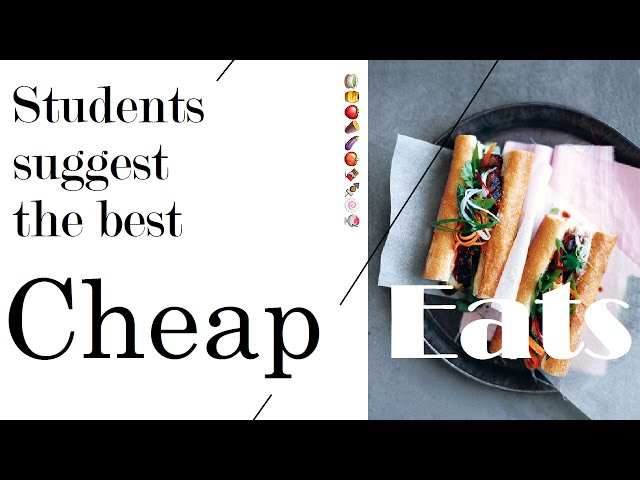 Student's Life Hacks: Where Are The Best Cheap Eats in Sydney?