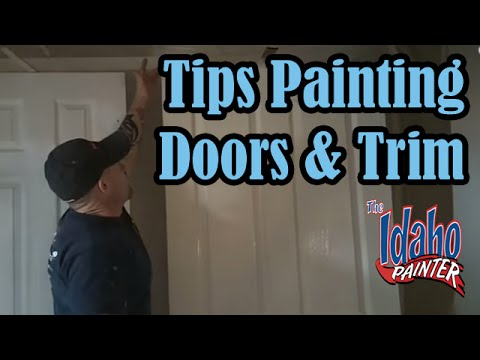 how to spray - How to video on spraying door and trim work with an airless sprayer. Shows proper technique and tips for masking and spraying. B&K Painting is a full service...