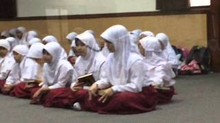 Ujian Tartil SD Khadijah surabaya