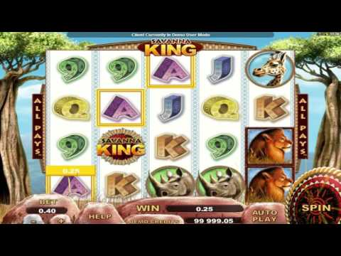 Free Savanna King slot machine by Genesis Gaming gameplay ★ SlotsUp