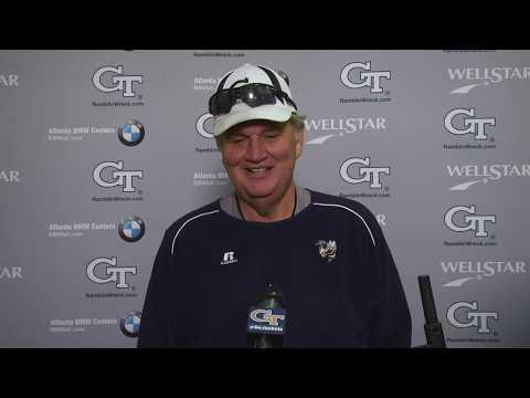 Video: #GTSpring18: Coach Paul Johnson (April 16)