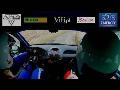 Rajdowy Puchar Śląska 2 Rally Sprint Skoczowski Holubek/Grzybek Peugeot 206 - os 2