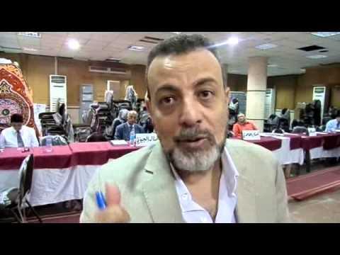 حسام ابراهيم يترشح علي مقعد القطاع العام