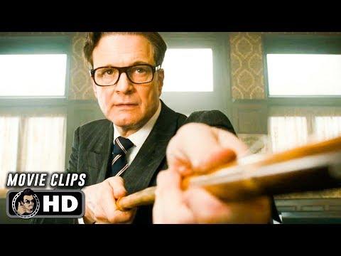 KINGSMAN: THE SECRET SERVICE Clips + Trailer (2014)