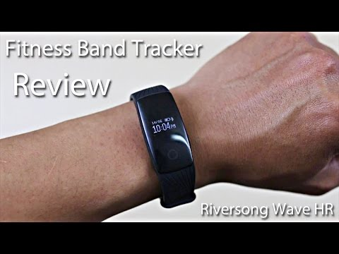Riversong Wave HR Fitness Band Tracker Review!