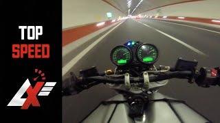 8. 2004 Ducati Monster 620 TOP SPEED RUN (RAW SOUND)