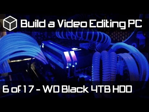 WD Black 4TB Performance Hard Drive Installation - Build a Powerful Video Editing PC - Part 6