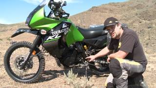 4. Touratech Explore HP Shock for the KLR 650 with Iain Glynn