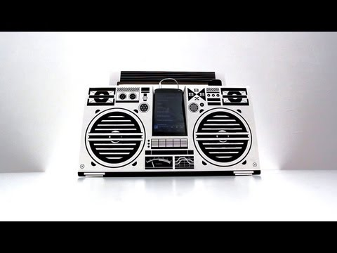 unboxtherapy - PRICING & AVAILABILITY Berlin Boombox - http://bit.ly/Vny4oi This is my unboxing, build and overview of the Berlin Boombox. The Berlin Boombox is a DIY cardb...