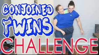 Conjoined Twin Challenge - YouTube