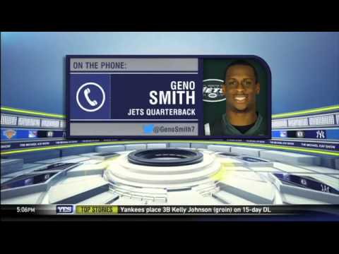 Video: New York Jets QB Geno Smith on the opening of training camp - The Michael Kay Show