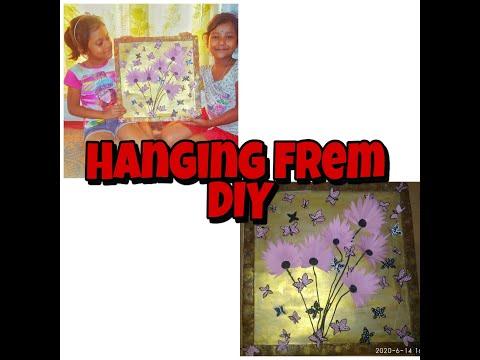 #Papercraft Hanging frame DIY part 2 #Gungun 5 #DIY #5MinuteCraft