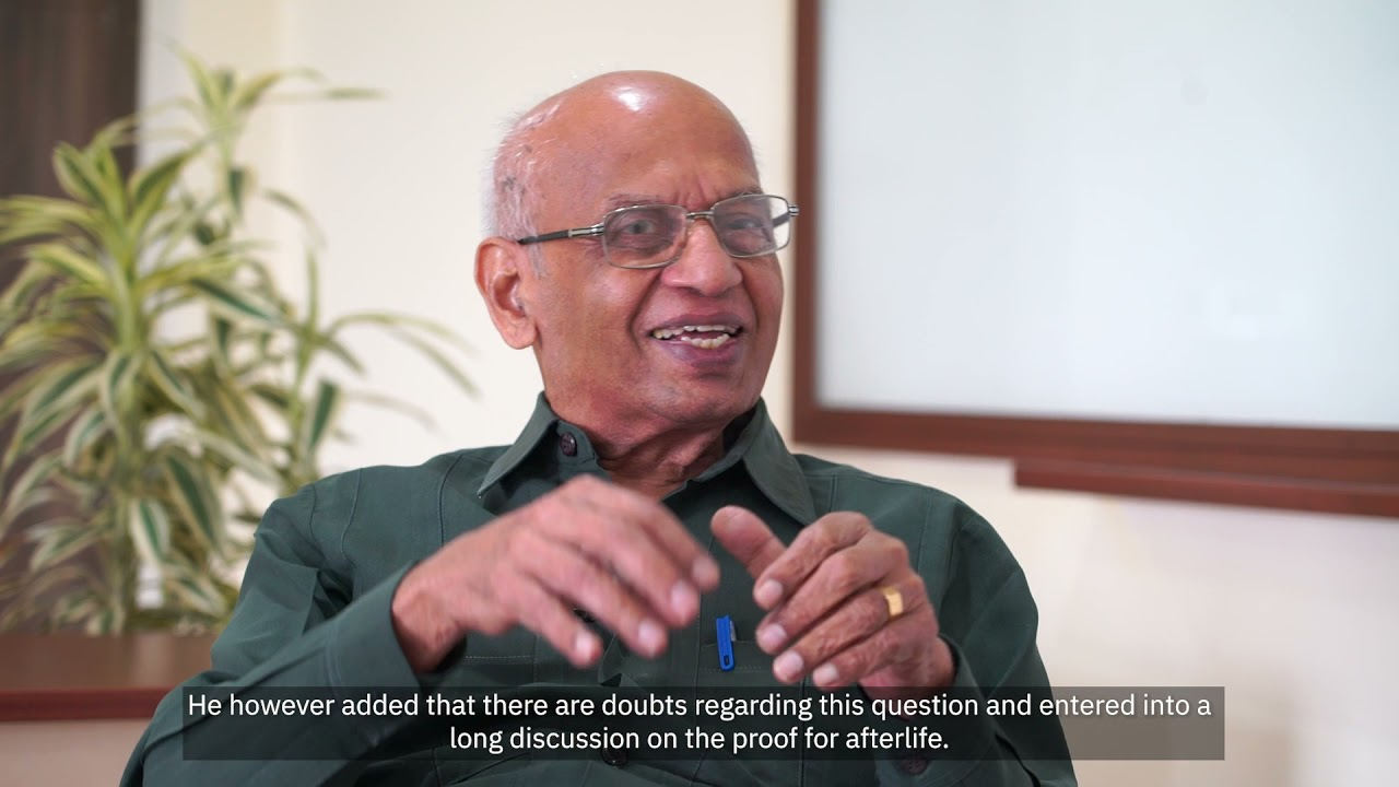 V.D. Selvaraj in Conversation with Dr M.S. Valiathan: History of Medical practices in India and the Study of Ancient Texts
