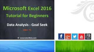 Microsoft Excel 2016, this list covers all the basics you need to start entering your data and building organized workbooks with Excel 2016 editionMain Play list : https://goo.gl/bmGjqX (70+ Video)Subscribe Now  : http://goo.gl/2kzV8MTopics include:1. What is Excel and what is it used for?2. Using the menus3. Working with dates and times4. Creating simple formulas5. Formatting fonts, row and column sizes, borders, and more6. Inserting shapes, arrows, and other graphics7. Adding and deleting rows and columns8. Hiding data9. Moving, copying, and pasting10. Sorting and filtering data11. Securing your workbooks12. Tracking changes